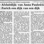 Artikel over architectuur Afsluitdijk